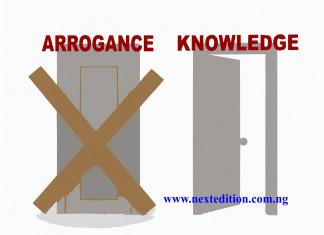 The revolving door of arrogance