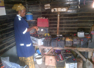 Behold Oriyomi, the female battery charger