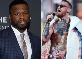 50 Cent hits back at McGregor's random insult during Mayweather press conference
