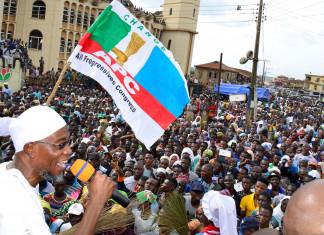 Osun West Senatorial election: Aregbesola leads APC in mega rally