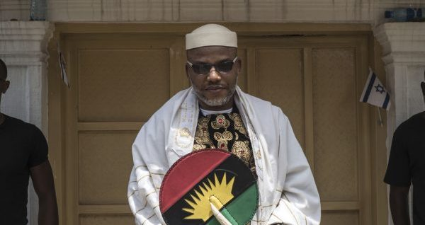 Why S'East senators met Kanu –Abaribe