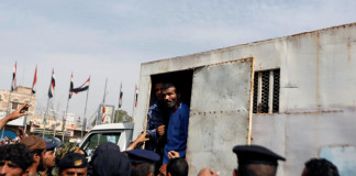 A man convicted of raping and murdering a three-year-old girl was executed in the Yemeni capital Sanaa on Monday in front of hundreds of onlookers,