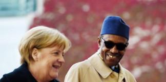 Buhari congratulates Merkel for winning 4th term
