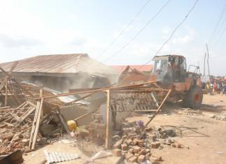 FCT authorities demolish Guzape Village