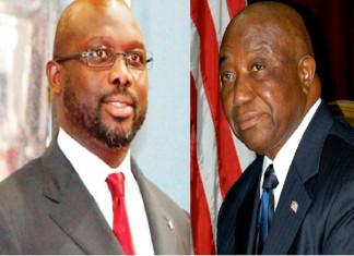 Liberia: Weah, Boakai for run-off