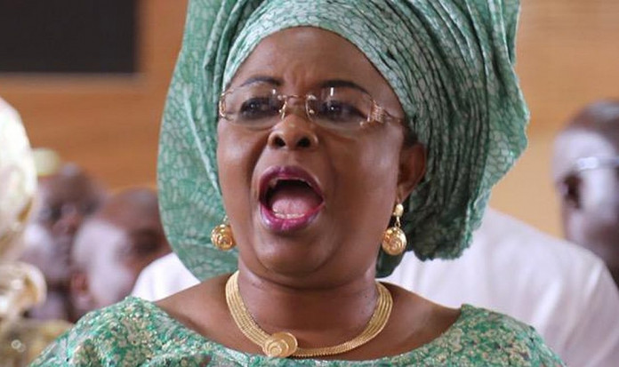 Stop EFCC from witch-hunting me, Patience Jonathan begs Buhari