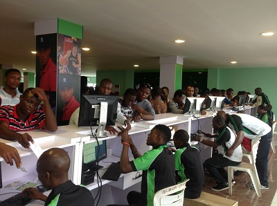 Sport betting business and unemployed youths