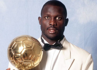 George Weah in hot contest for Liberian presidency