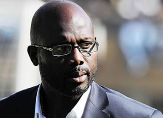 Liberian election: George Weah in early lead