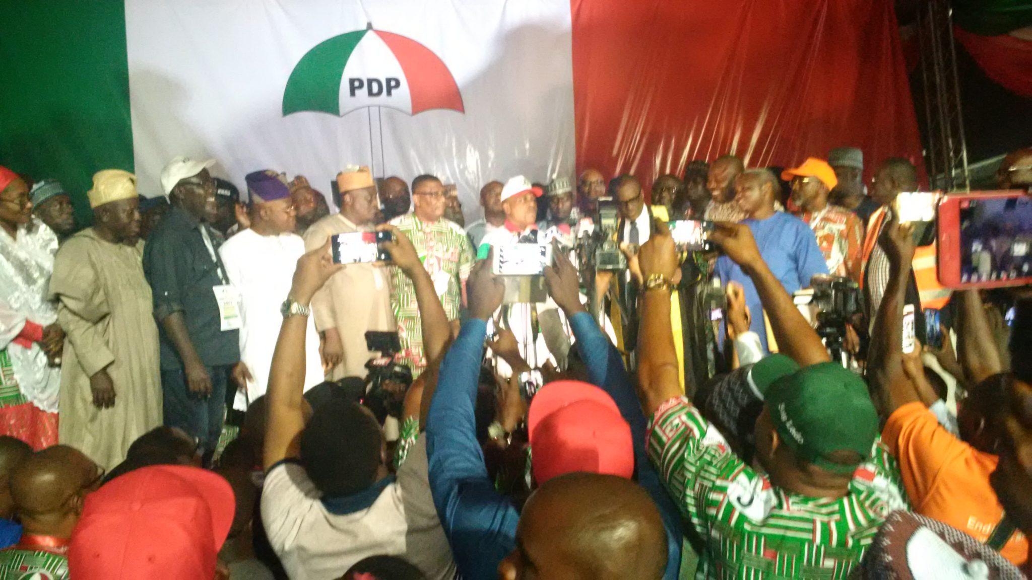 BREAKING: PDP: Uche Secondus, new national chairman