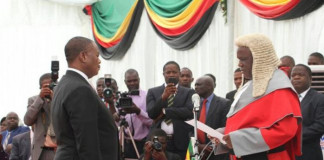 Chiwenga Zimbabwe's coup leader sworn-in as VP