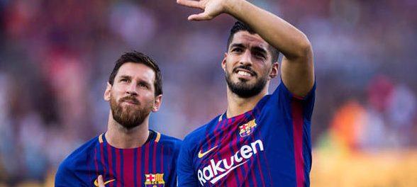 La Liga: Messi, Suarez lead Barca's 5-0 romp at Real Betis