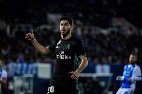 Asensio ends Madrid's victory drought