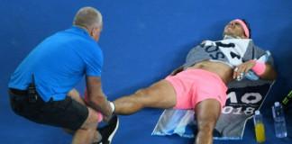 Rafa Nadal out for three weeks