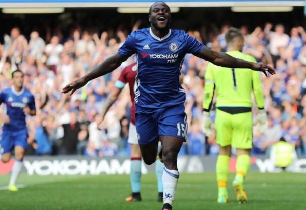 Chelsea beat Brighton, Moses scores