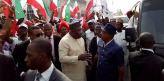 PHOTOS OF THE DAY: PDP condoles with the Ekwuemes