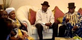 Obasanjo visits Jonathan, blames militancy on lack of education