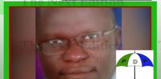PDP demands probe into killing of chieftain, Sam Zadock