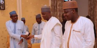 Budget: What Buhari told Saraki, Dogara, others