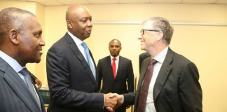 Saraki meets Bill Gates, Dangote over health financing