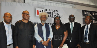 """PHOTO OF THE DAY: Faces at dialogue by Ripples Nigeria on """"Rebuilding Trust in a Divided Nigeria"""""""