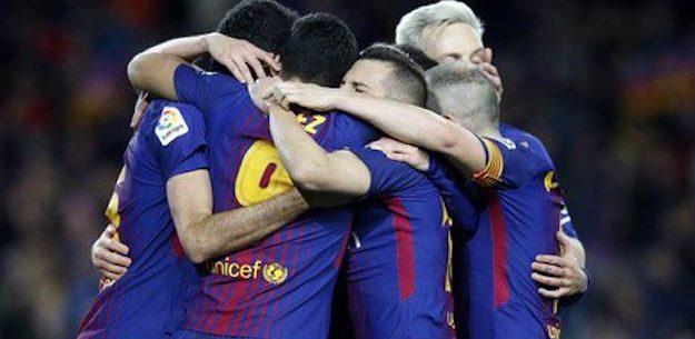 Barcelona set to break La Liga record