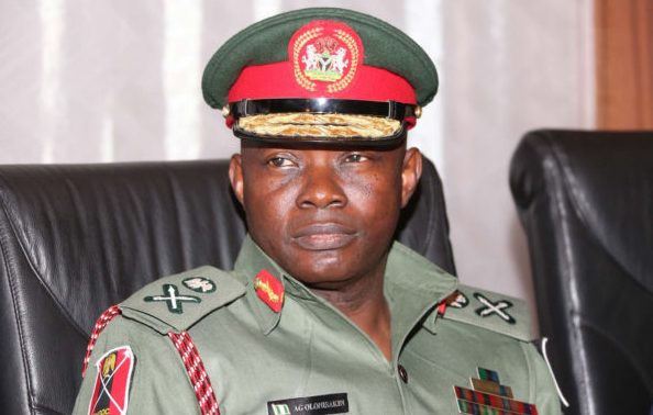 We're not withdrawing from internal operations – Military
