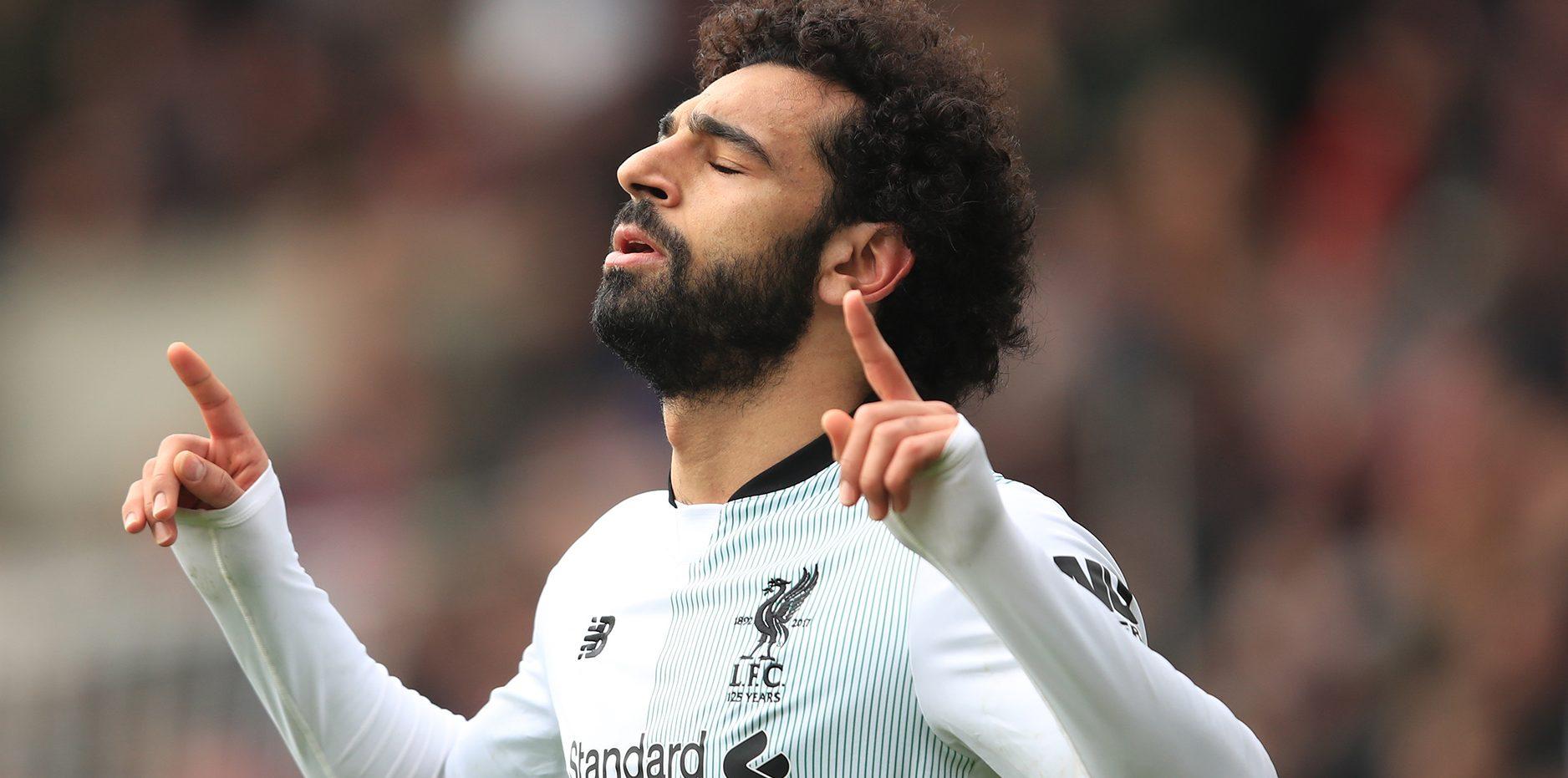 Late strike by Salah gives Liverpool 2-1 win at Crystal Palace