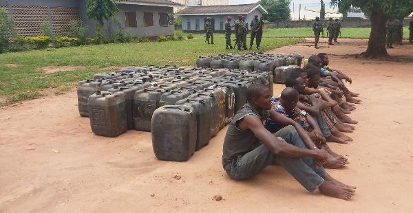 Army arrests 23 suspected cult members, 15 pipeline vandals