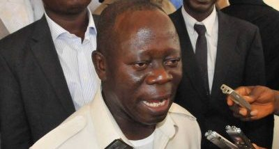 APC chairmanship: Adams Oshiomhole brags of governors support