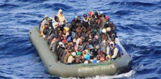 Libyan coastguard picks up 948 African migrants on inflatable boats in 1 day