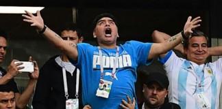 World Cup: Diego Maradona rushed to hospital