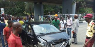 Drunk-driving: Chauffeur-driven woman escapes death