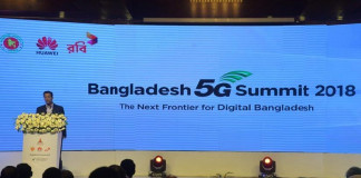 Huawei demonstrates 5G Technology in Bangladesh