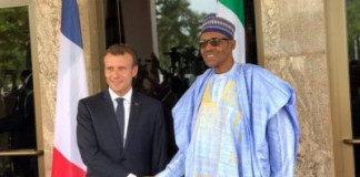 PHOTOS OF THE DAY: French President, Emmanuel Macron in Nigeria