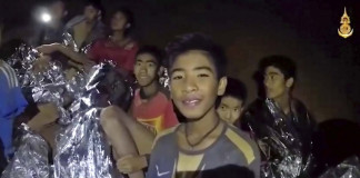 Story of trapped Thai football team coming as movie