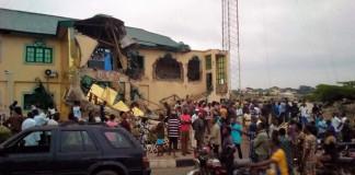 PHOTOS OF THE DAY: Yinka Ayefele Music House demolished