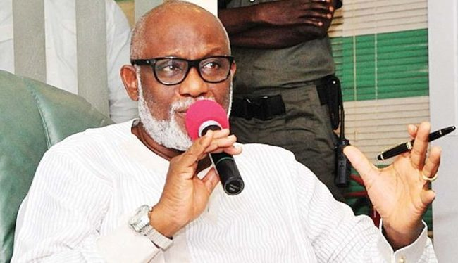 Oshiomhole, incompetent, unfit to chair APC – Akeredolu