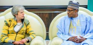 What Buhari told British Prime Minster May