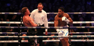 BREAKING: Anthony Joshua knocks out Povetkin seventh round