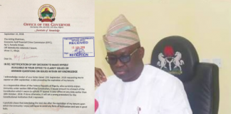 Fayose to EFCC: You can't probe me until I'm out of office