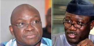 Fayose warns Fayemi: My handover note ready, stop spreading falsehood