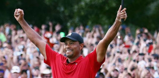 Tiger Woods makes greatest comeback ever