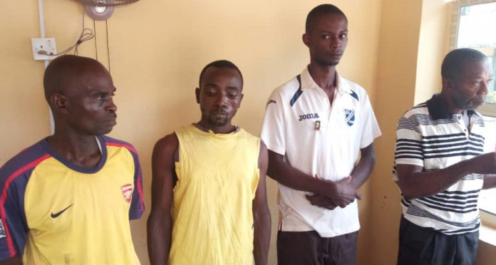 Benue Police Parade Four More Suspected Rapists