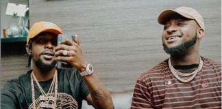 Davido hosts Jamaica dancehall superstar Popcaan