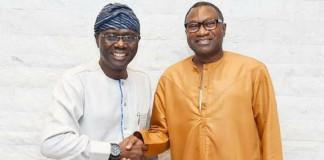 Femi Otedola endorses Sanwo-Olu for Lagos state Governor