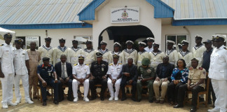 Nigerian Navy Provost and Regulating School Graduate 16 Ratings