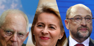 Candidates to replace Merkel as CDU head make first joint appearance