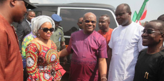 Governor Wike flags off construction of three roads, Health Centre at Odiokwu