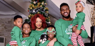 How Nigerian Celebrities Celebrated 2018 Christmas